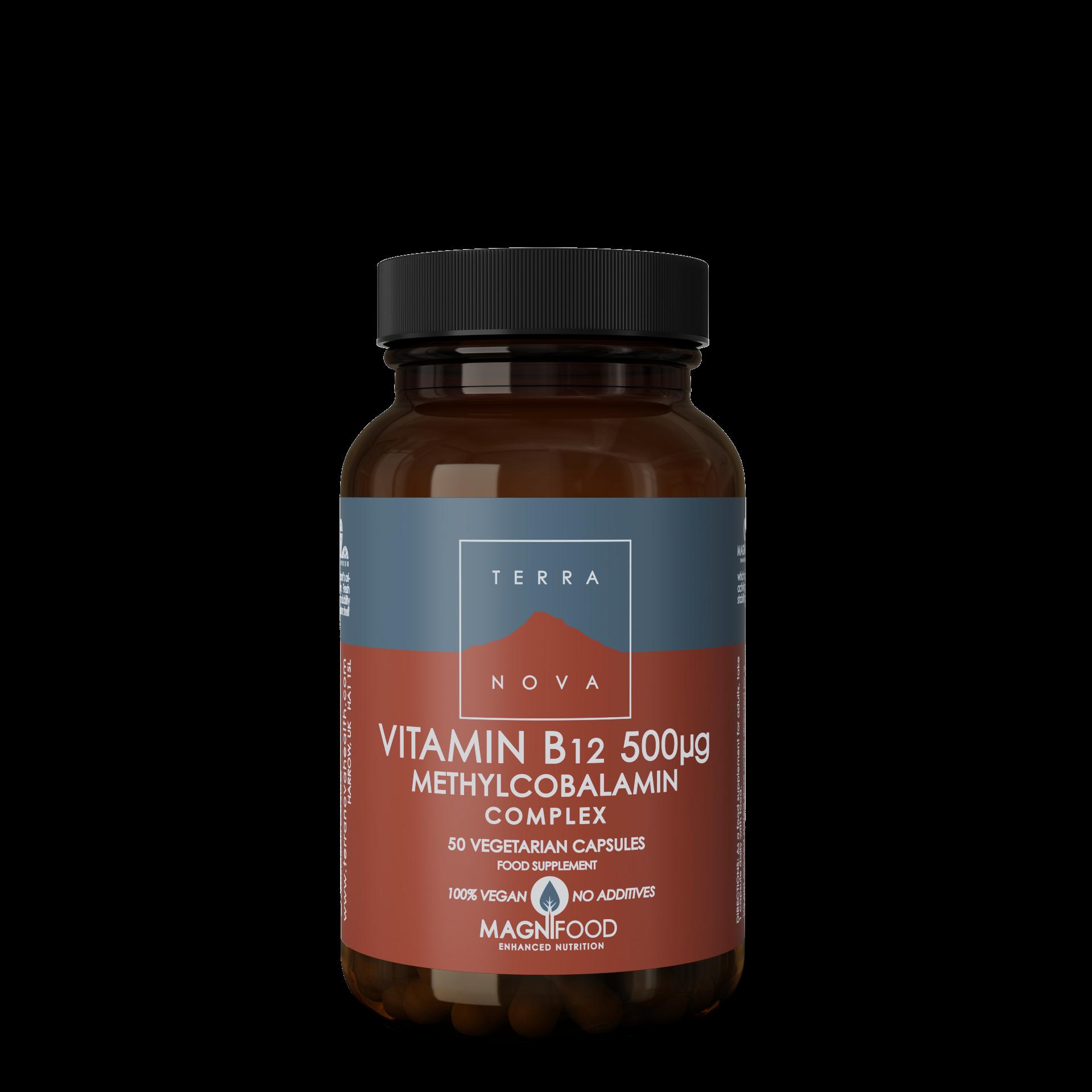 B12-vitamin 500 ug Complex