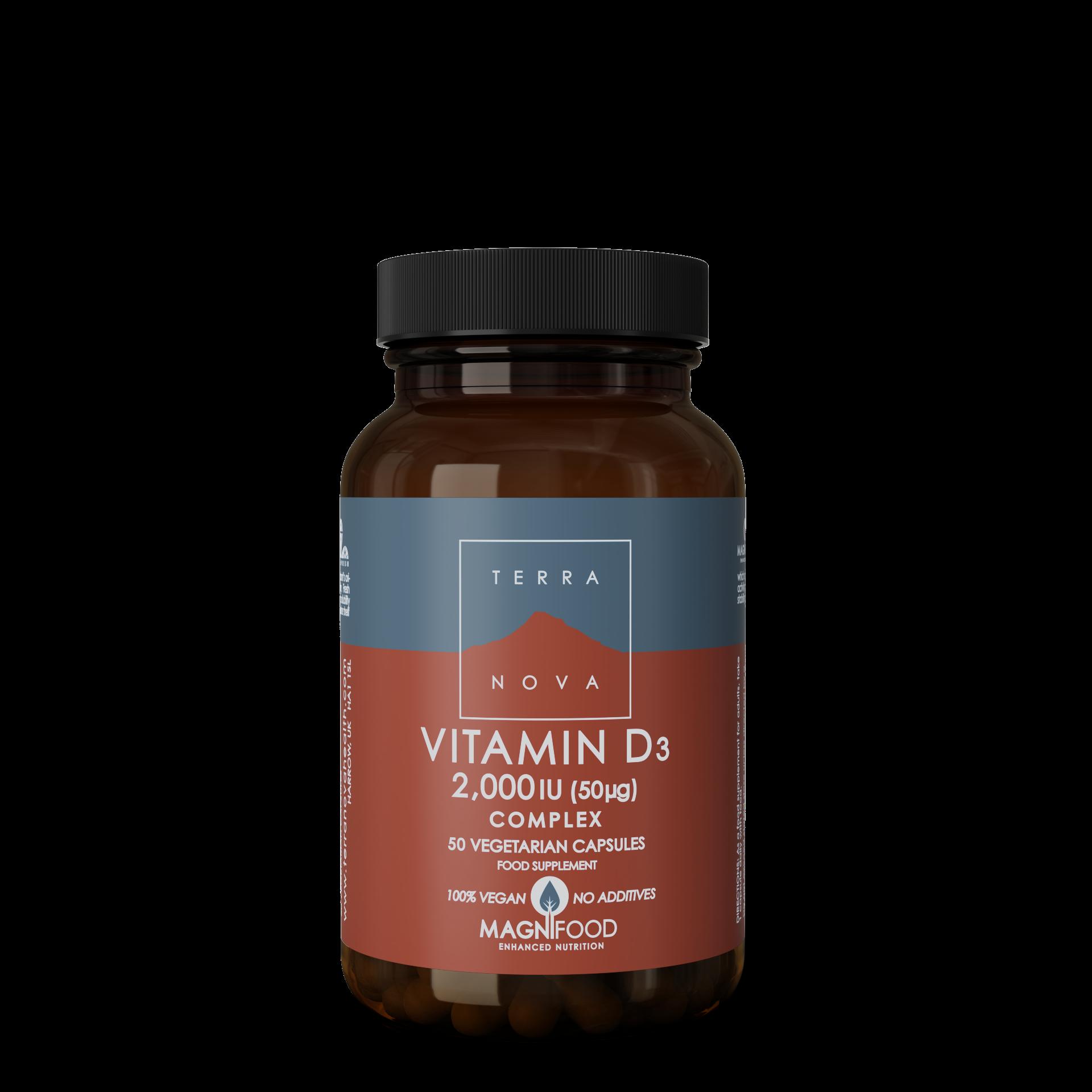 D-vitamin 25 ug/50 ug Complex