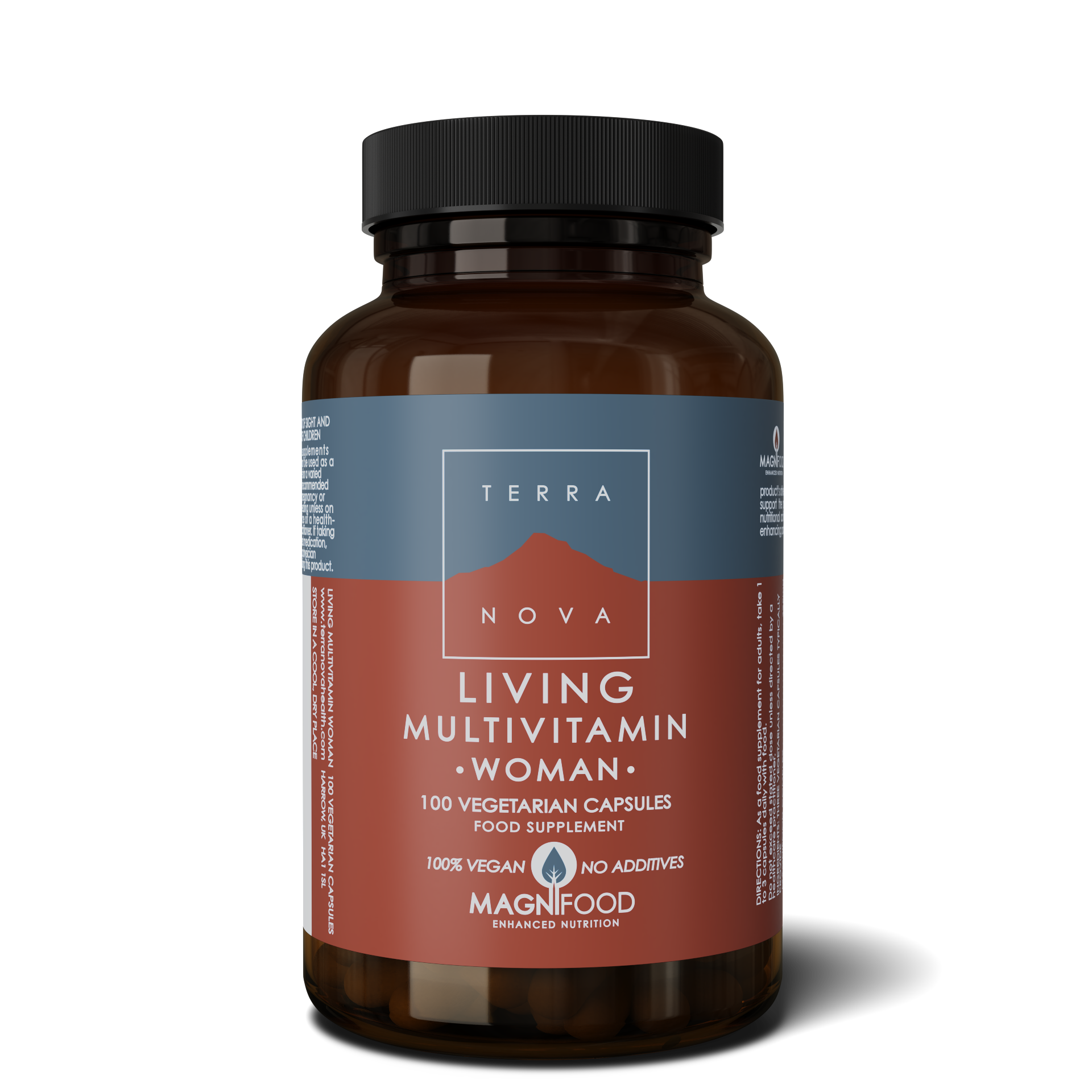 Living Multivitamin WOMAN 100 kaps, Terranova (Vegan)