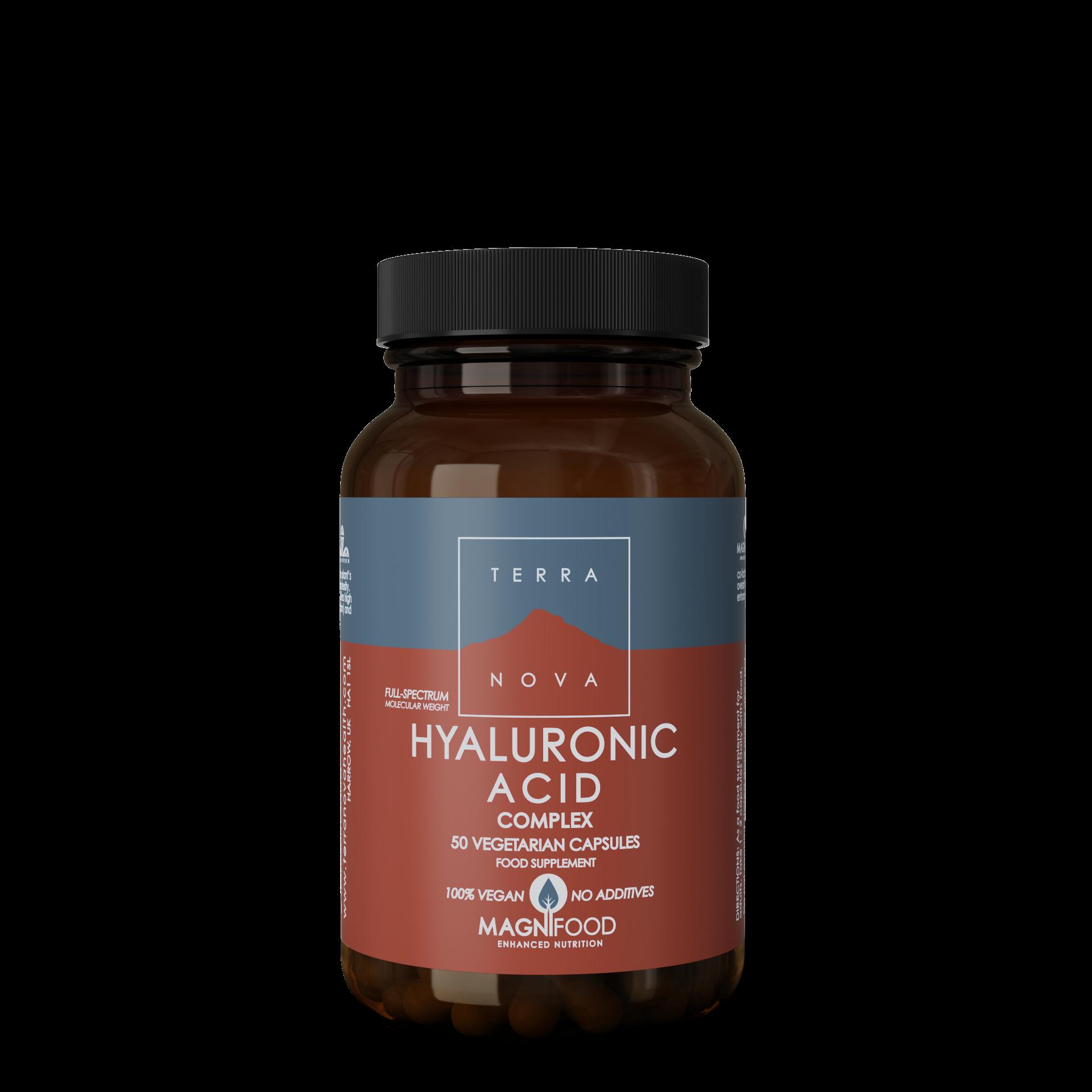 Hyaluronic Acid Complex 50 kaps, Terranova